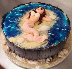 Torte_Nixe_Meerjungfrau